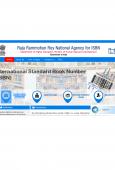 India ISBN Agency website screenshot