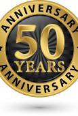 Gold 50 Anniversary logo