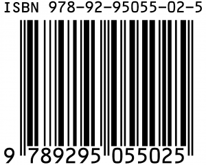 A barcode of vertical black and white stripes, with the ISBN written above and the EAN written below