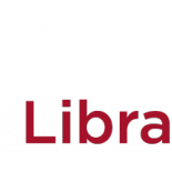 The logo of the National Library of Norway in red